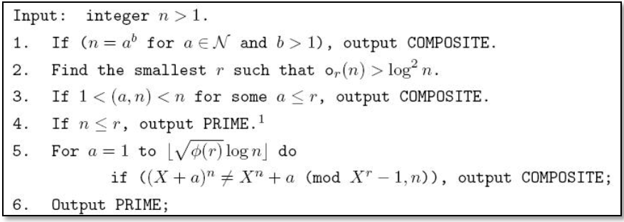 AKS Algorithmus
