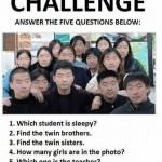 Asiaten - finde die Unterschiede