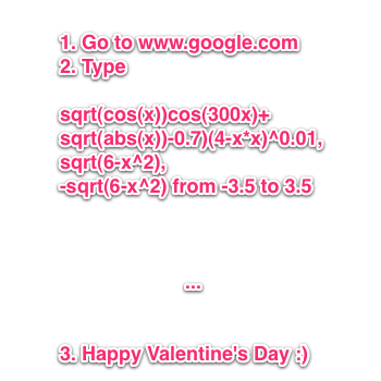 Happy Valentine's Day from Google