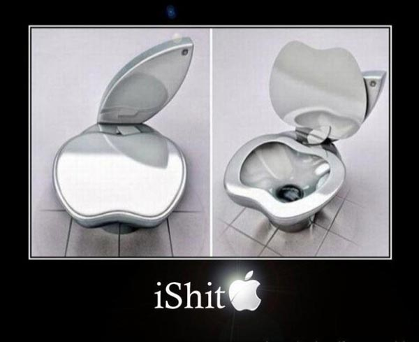 Apple reveals new product: iShit