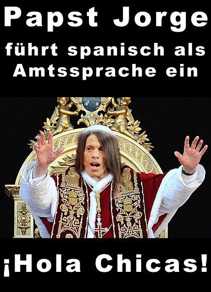 Papst Jorge: Spanisch wird neue Amtssprache im Vatikan