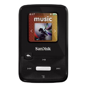 Der Sansa Clip Zip MP3 Player von SanDisk